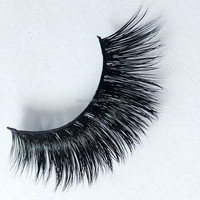 Hand made 3D Mink Fur Lashes100 Real Strip Mink Fur Eyelash Natural Long False Eyelashes