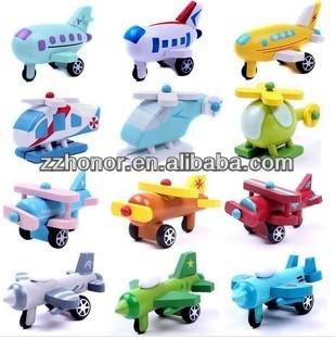 Hot sale item --- lovely planes (12 dofferent designs/set)