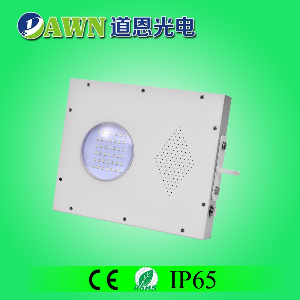 5W Sunpower high quality integrated all in one solar led garden light Rgb led spot lights outdoor