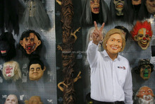 Hillary Clinton Rubber Mask 2016 President Candidate Mask Hillary Clinton Face Mask