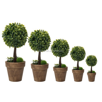 Decorative Boxwood Balls Interesting Cheap Decorative Boxwood Ball Artificial Bonsai For Indoor And Inspiration Design