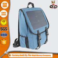 Wholesale solar backpack for hiking cycling