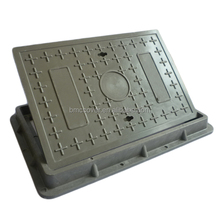 EN124 SMC/BMC/FRP Composite Manhole Cover Square