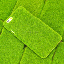 2015 New Arrival Phone Accessories Green Lawn PC Case for Iphone 6