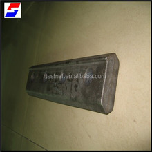 china price tangshan Railway fish plate carbon steel plate