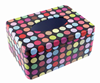 Colorful Wave Point Pattern Mini Rectangle Napkin Holder
