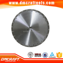 Laser welded concrete cutting diamond saw blade