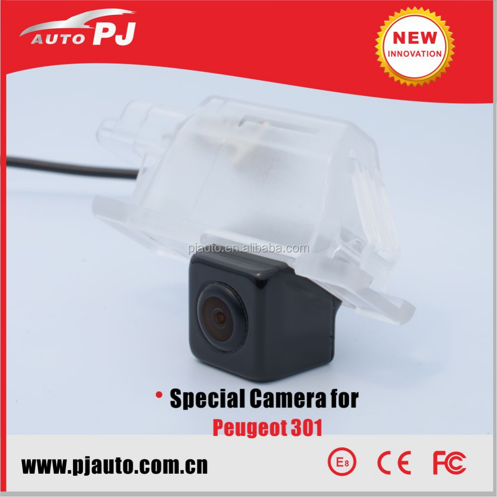 "0.01 Lux Super Night Vision 1/3"" SONY CCD Car Rear View Backup Camera/Reverse Camera for Peugeot 301"