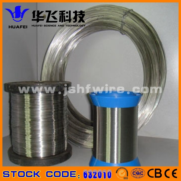 flat FeCrAl wire for rebuildable atomizer
