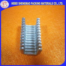 E210 sausage clips Heavy Duty fruit packing Food Standard sausage Packing Use Aluminum U Clips Poly S-Clips
