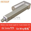 27mm/s 250mm stroke 30KG/66LB lift capacity 12V small linear