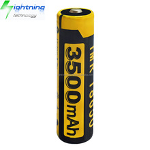 HOT OEM Factory Wholesale Durable High Capacity 3500mah Rechargeable 18650 Battery for Torch LED Flashlight Battery