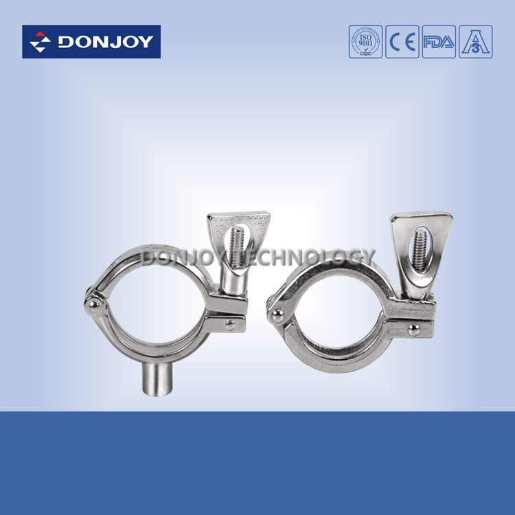 Single pin clamp with nut