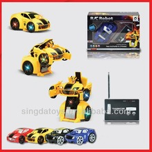777-321 Wireless Can Be Out Of Robot Shape 2ch rc car