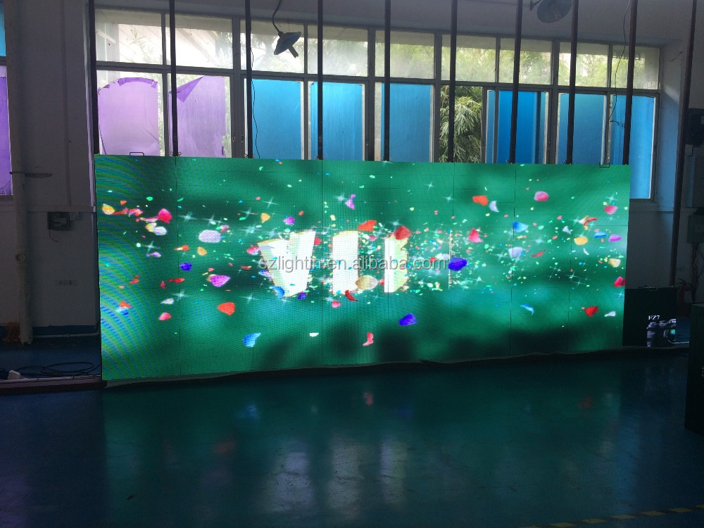 New products led modules stage background P3 led componet indoor