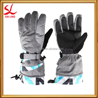 Men's Winter Waterproof Snow Gloves Thinsulate Lined Ski Gloves