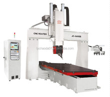 cnc woodworking engraving machine 5 axis / high z axis wood router 1325 price