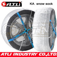 Hot selling quick mounting polyester fibre KA auto snow sock
