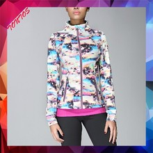 wholesale american sport jacket neoprene fashion women jacket