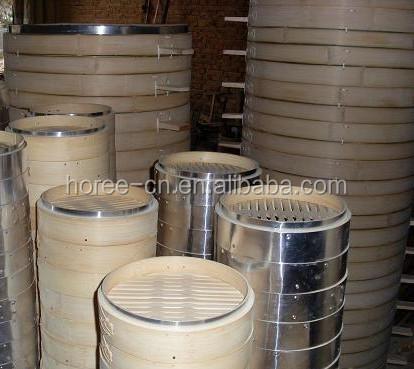 whole sell large handmade bamboo steamer basket