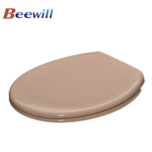Beige color soft close BATHROOM toilet seat SANITARY WARE