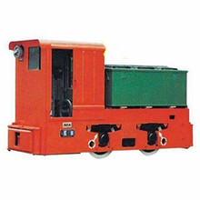 Narrow gauge diesel locomotive for underground mining