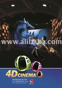 3D / 4D / 5D / 6D / 7D Theater (Cinema) and Simulator