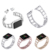 Stainless Steel Band Bracelet for Apple Watch 40mm 44mm 38mm 42mm Crystal Diamond Rhinestone Replacement Jewelry Wristband Strap