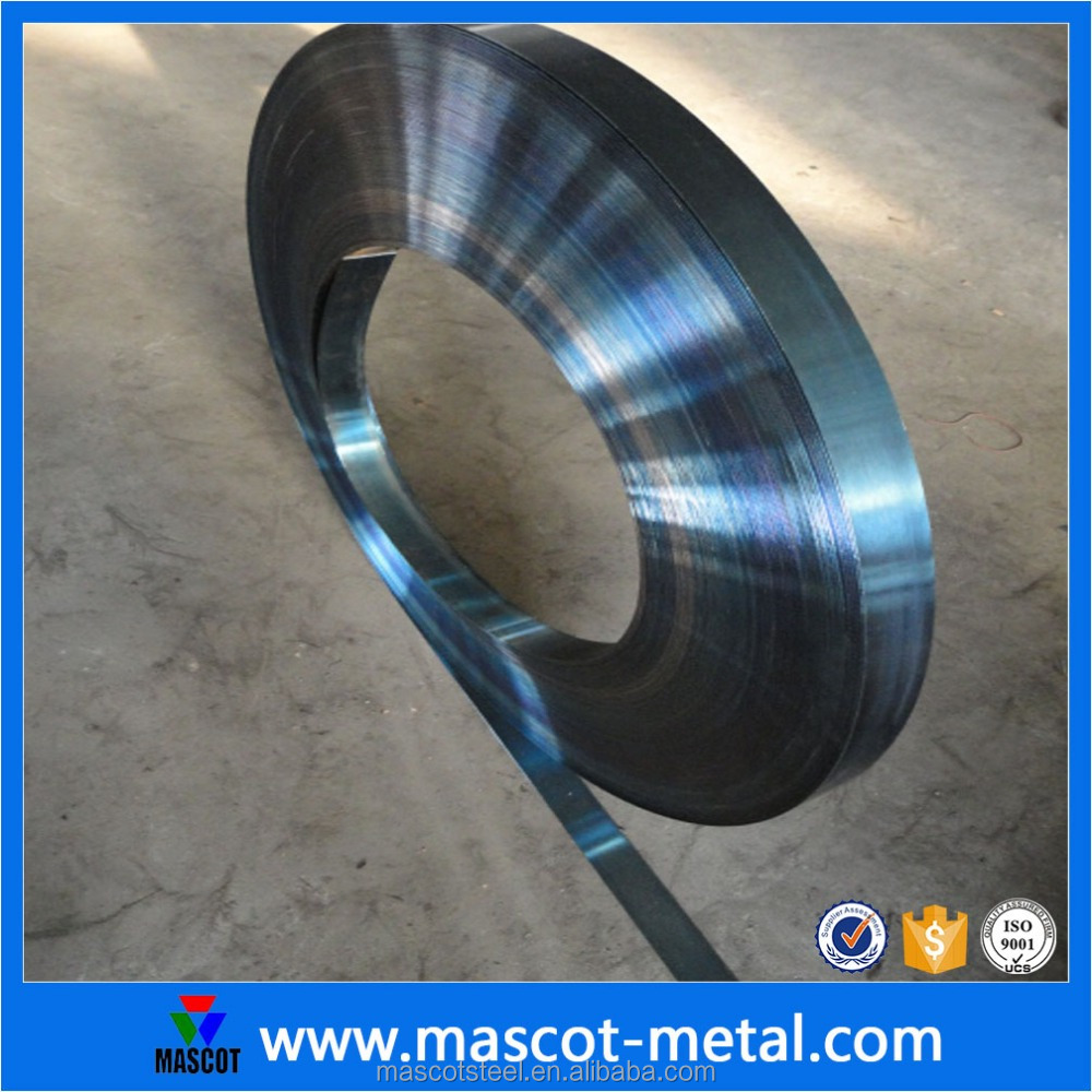 Grey blue rolling shutter spring steel coils for measuring tape