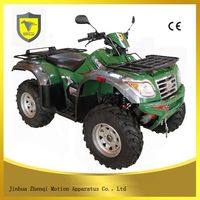 Faster 4-stroke 500cc atv engine with reverse gear