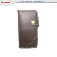 Retro Style PU Flip Wallet Phone Case For Iphone7 7Plus Flower Lace Credit Card Holde Wallet Mobile Phone Case With Kickstand