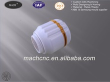 Rapid Prototype CNC Machined Spare Parts Plastic Injection for Lamp Holder