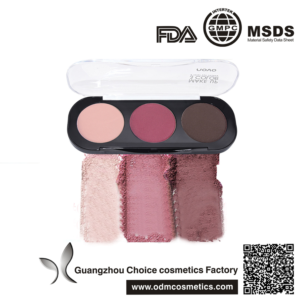 professional makeup Create charming <strong>eyes</strong> 3 colors eyeshadow palette
