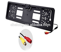 Waterproof HD License Plate Frame Rear View Backup Camera with 4 LED Light Euro liscense plate Camera rear