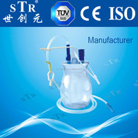CE ISO surgical suction Drainage Bottle Vacuum Wound Drainage