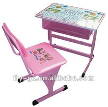 Personalization Childrens Study table and chair for kindergarten