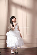 NEW ARRIVAL ! 2013 latest fashion kids white ballet tutu dress