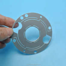 Precision machining custom made aluminium 7075 cnc machining parts , wire-electrode cutting parts