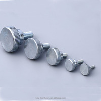 Customized stainless steel /brass knurled big head thumb screw