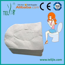 Disposable hygienic toilet seat cover with waterproof function