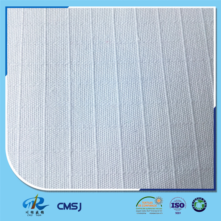 Wholesale 80 polyester 20 cotton ripstop bleaching white fabric