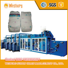 Second hand used equipment adult diaper making machine
