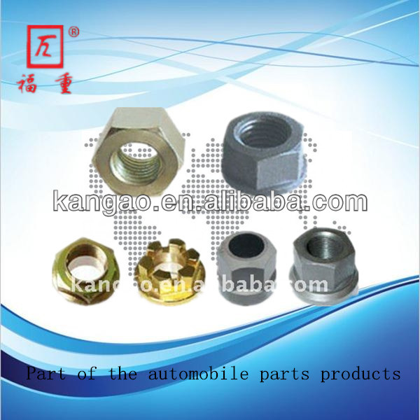 Hexagon Automobile Wheel Nut