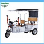 Battery operated electric auto rickshaw tricycle factory
