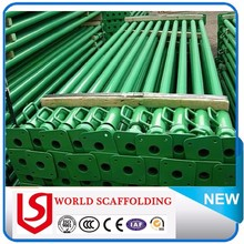 construction used pipe support galvanized strut jack construction steel light duty scaffolding prop