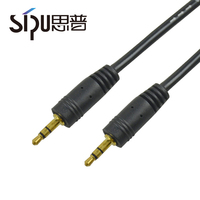 SIPU car usb charger + 3.5mm aux audio cable 3.5mm banana plug 3.5mm 4 pin to 3 pin 3.5mm headset splitter adapter