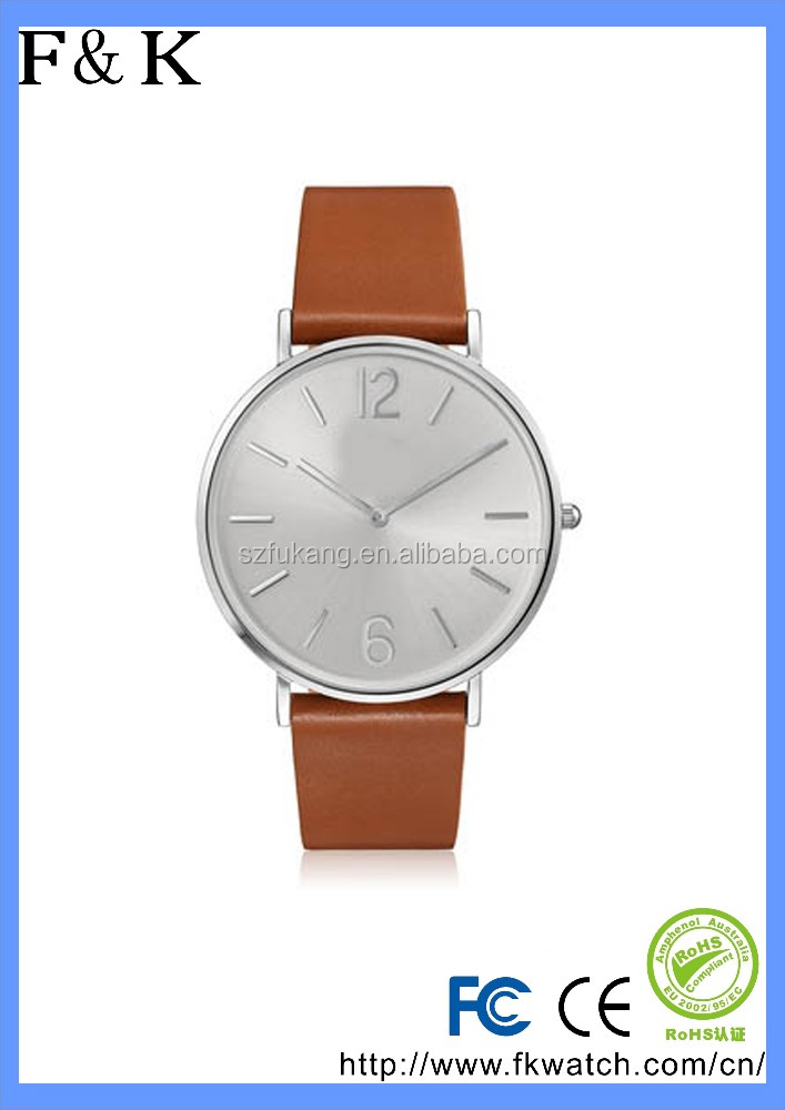 OEM watches manufacturer custom logo colourful leather minimalist casual woman watch