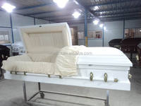 CLASSIC small coffin white coffin buy cardboard casket from China