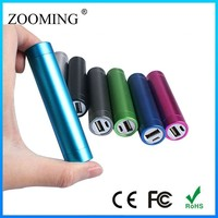 Rechargeable 2000mAh Portable Mini Mobile Power Bank Universal Power supply with USB For all phones pads various colors
