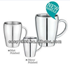 Small Camping Coffee Mug/Drinking/Soup Cup 300ml /10oz Stainless steel 18/8 mug cups